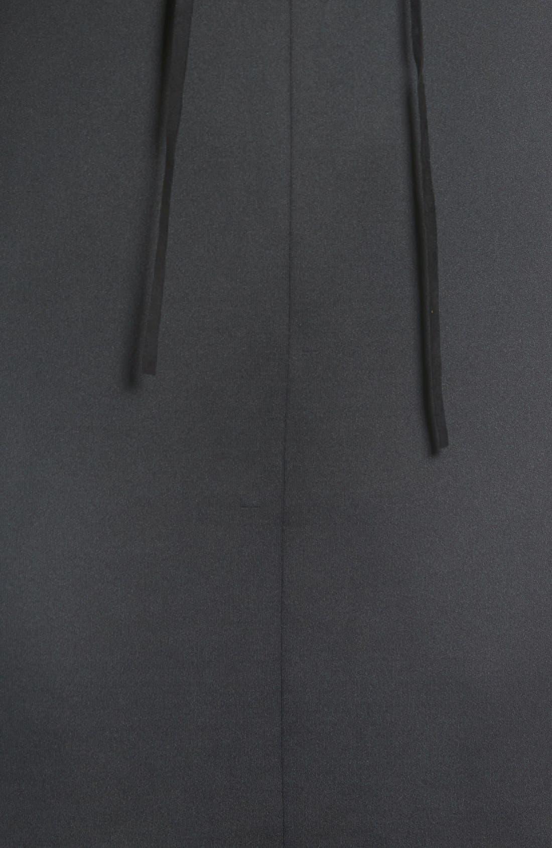 Alternate Image 5  - Catherine Catherine Malandrino 'Shaw' Lace-Up Sheath Dress
