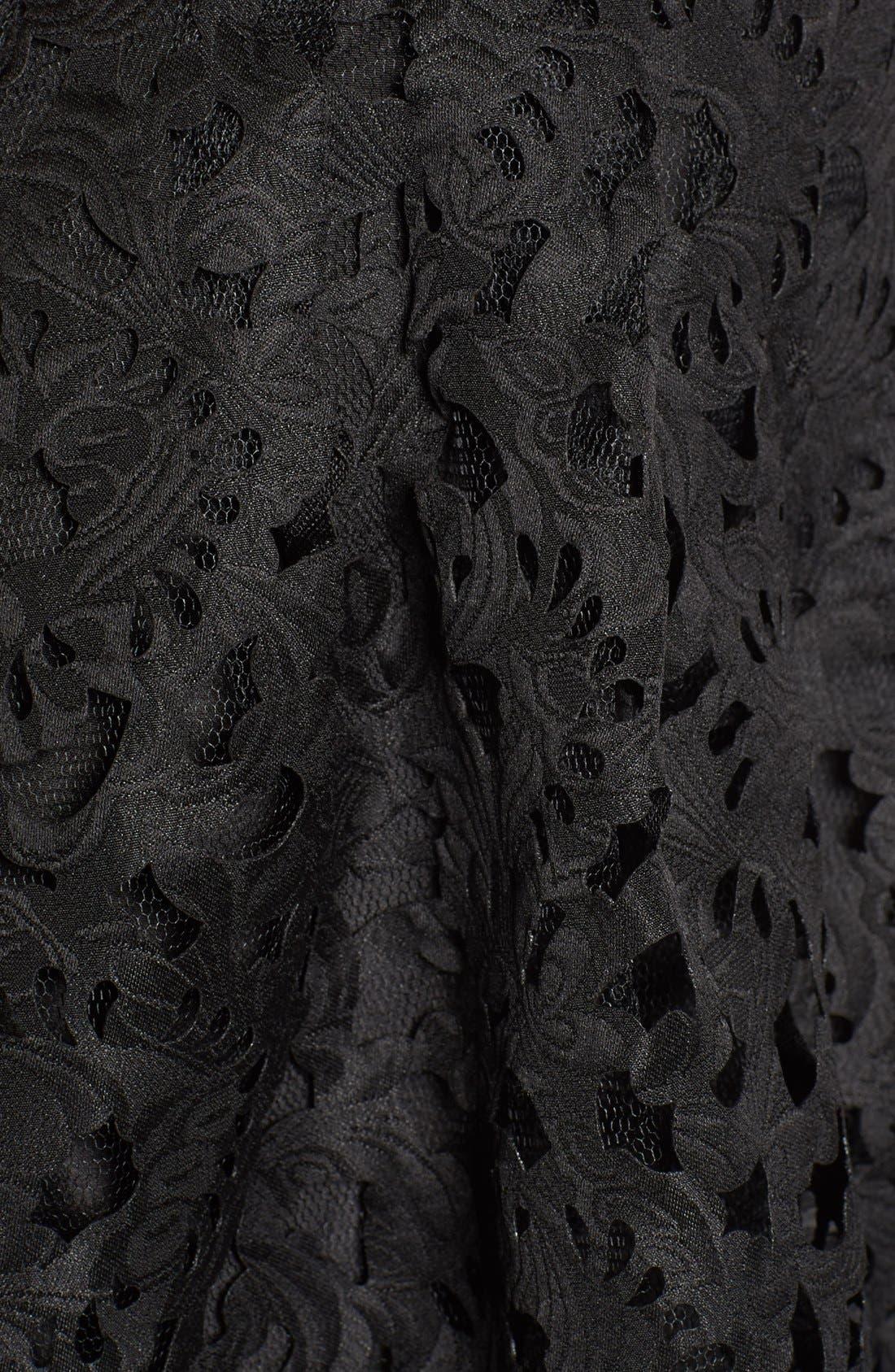 Alternate Image 5  - a. drea Laser Cut Lace Skater Dress