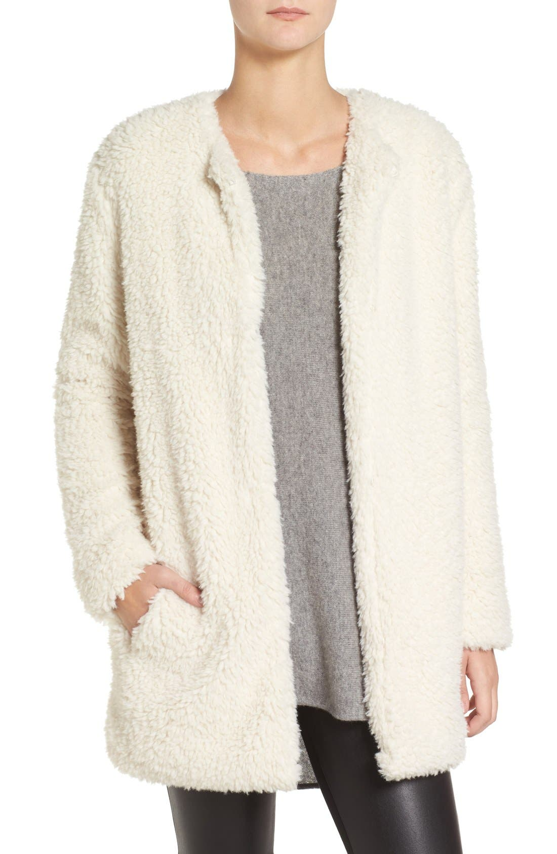 Main Image - BB Dakota Merrill Faux Fur Jacket
