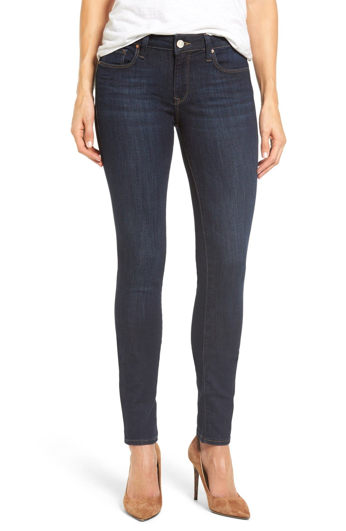 Mavi Jeans Alexa Stretch Skinny Jeans (Rinse Indigo Tribeca)