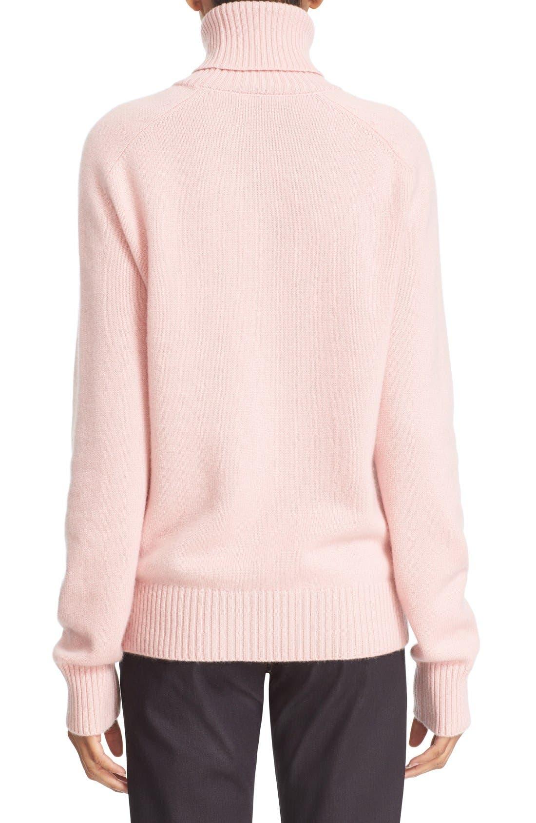 Alternate Image 2  - Tomas Maier Cashmere Turtleneck Sweater