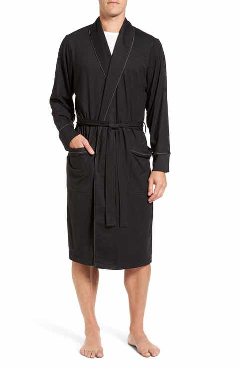 Nordstrom Men's Shop Cotton Blend Robe