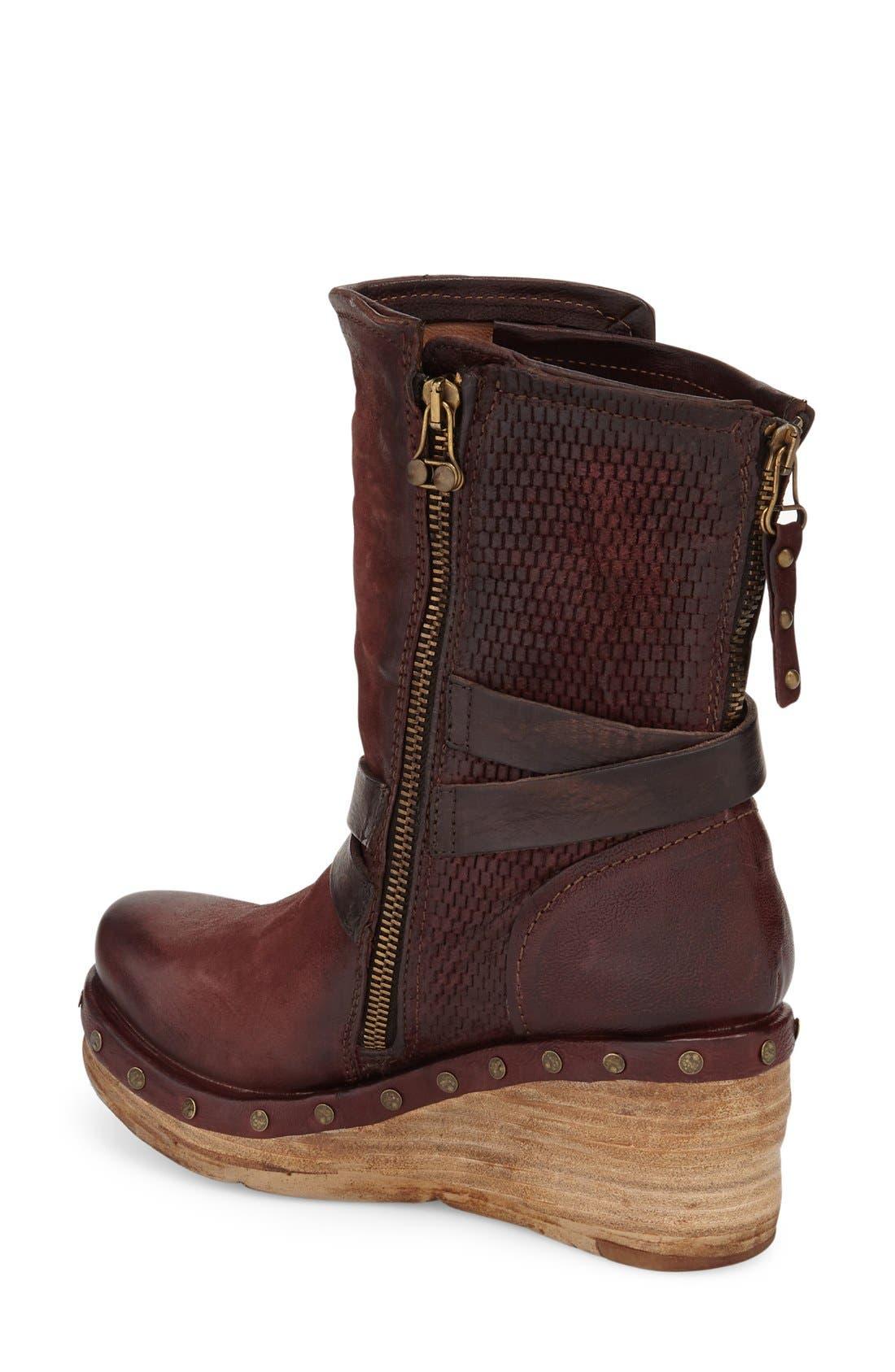 Alternate Image 2  - A.S.98 Stamford Platform Wedge Boot (Women)