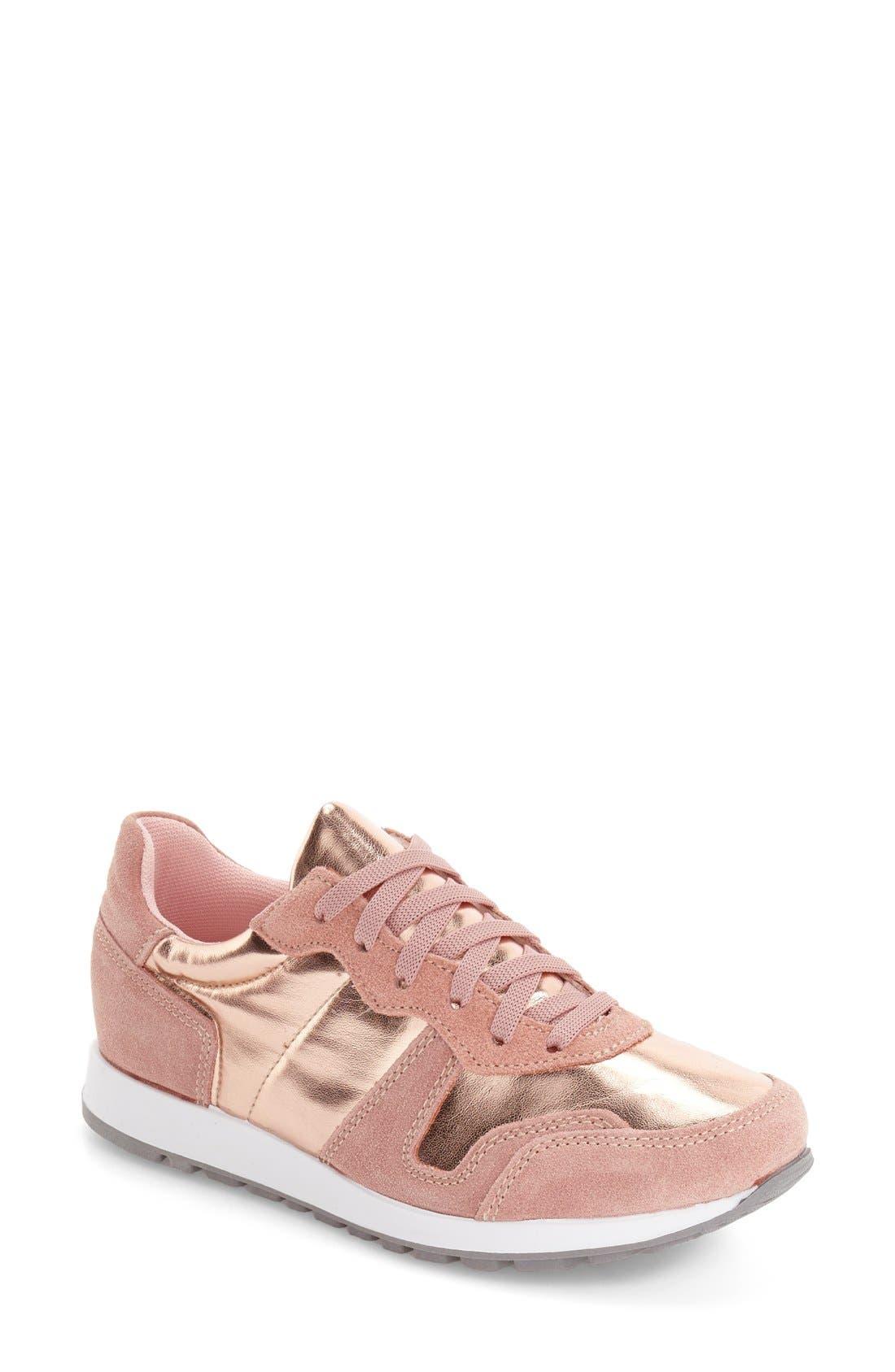 Alternate Image 1 Selected - Topshop Charlie Sneaker (Women)