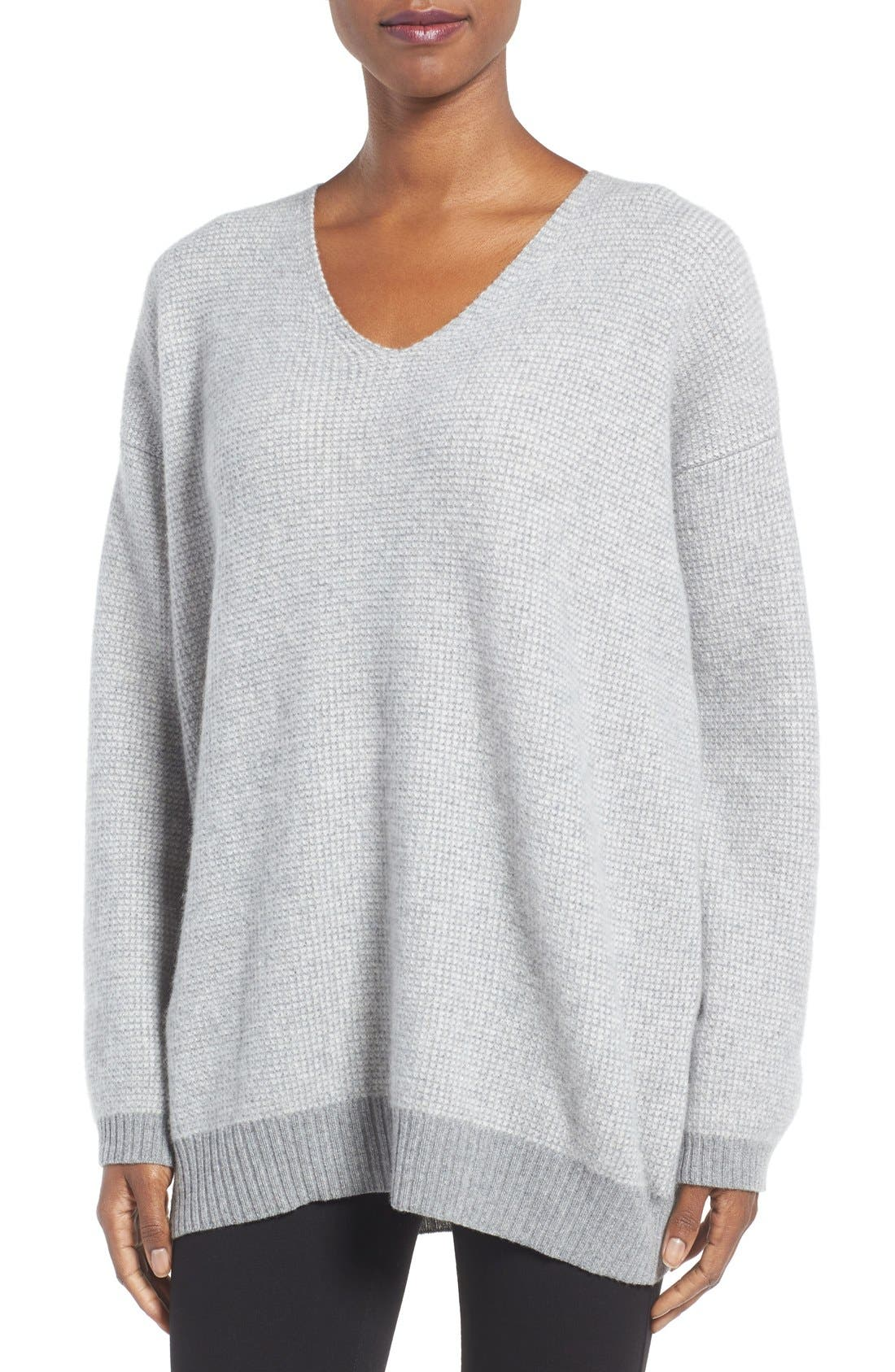 EILEEN FISHER Recycled Cashmere & Lambswool Sweater