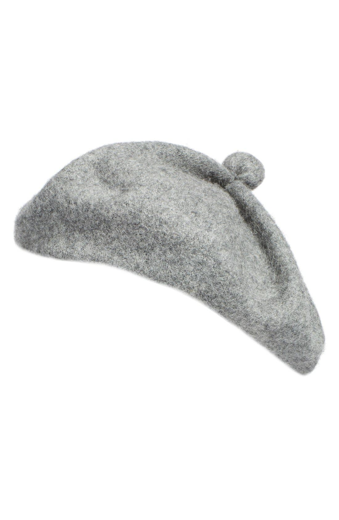 Main Image - BP. Wool Blend Beret