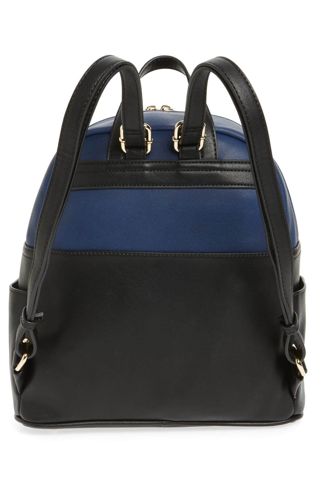 Alternate Image 3  - BP. Colorblock Faux Leather Backpack