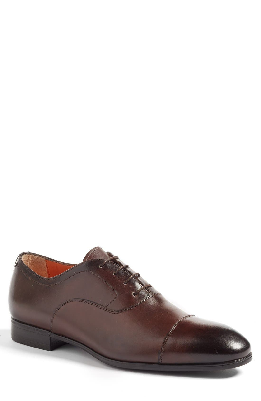 Santoni Ethan Cap Toe Oxford (Men)