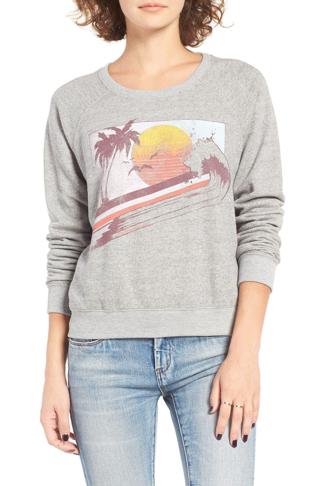 Billabong Drift on the Sea Graphic Sweatshirt