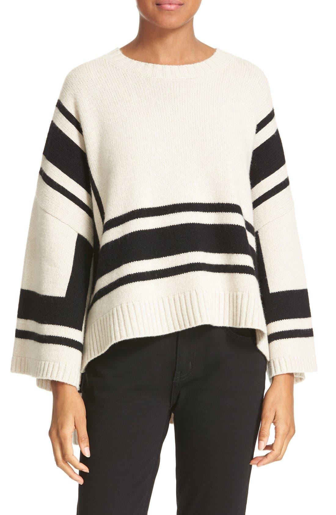 Alternate Image 1 Selected - Derek Lam 10 Crosby Stripe Wool Sweater