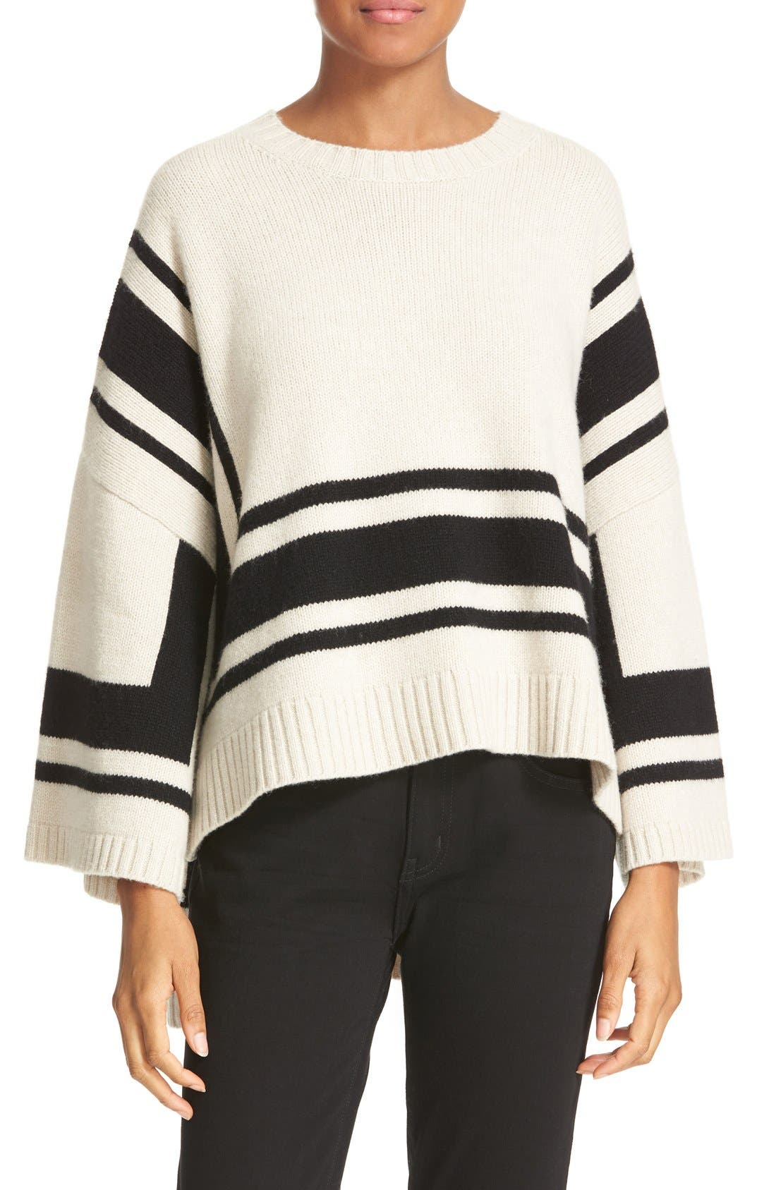 Main Image - Derek Lam 10 Crosby Stripe Wool Sweater