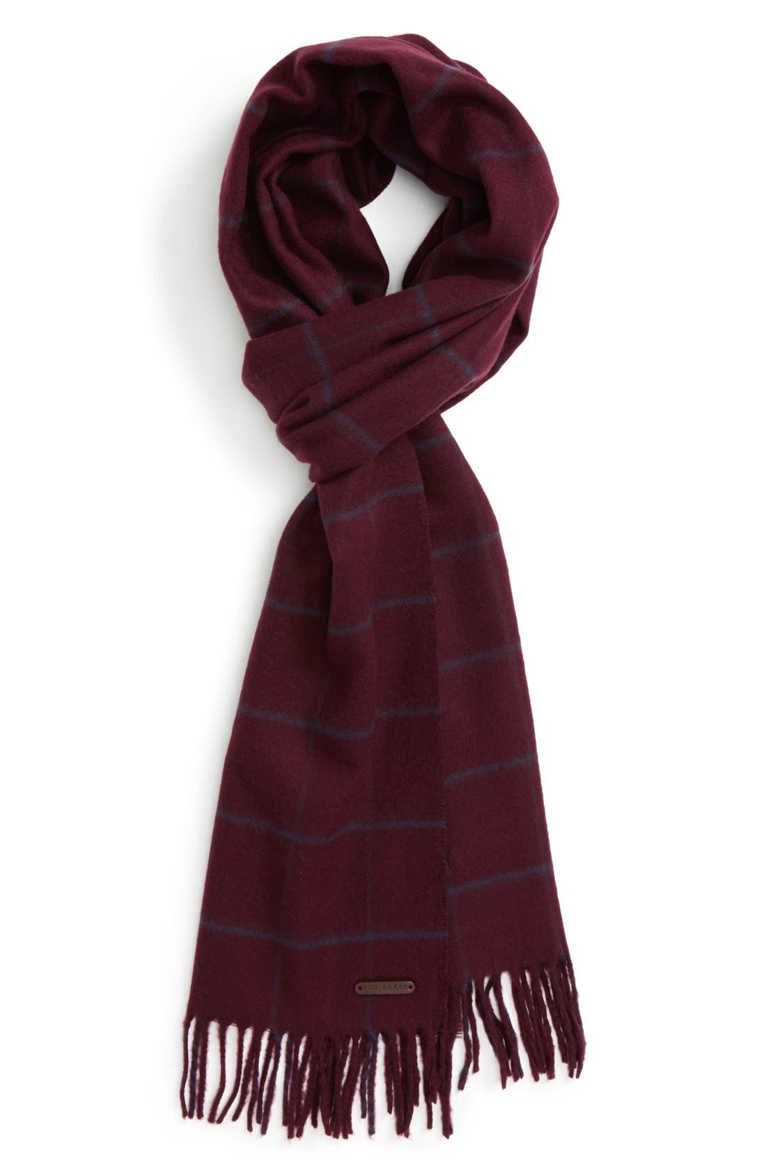 Main Image - Ted Baker London Flint Check Scarf