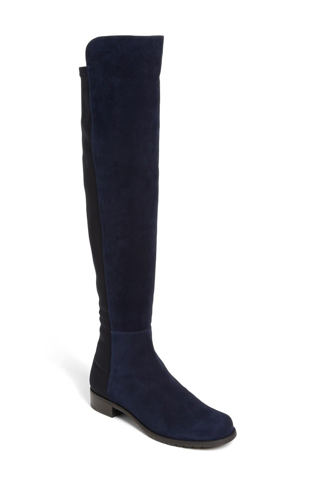 Main Image - Stuart Weitzman 5050 Over the Knee Leather Boot (Women)