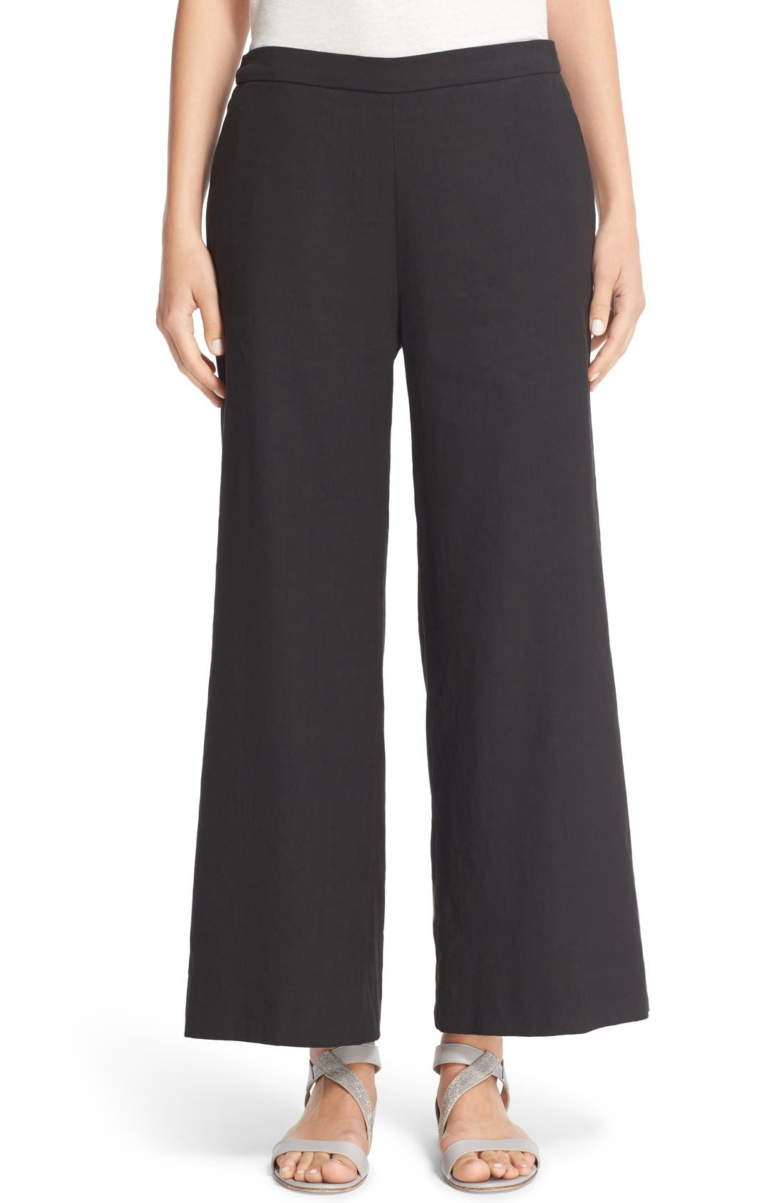 FABIANA FILIPPI Crop Wide Leg Pants