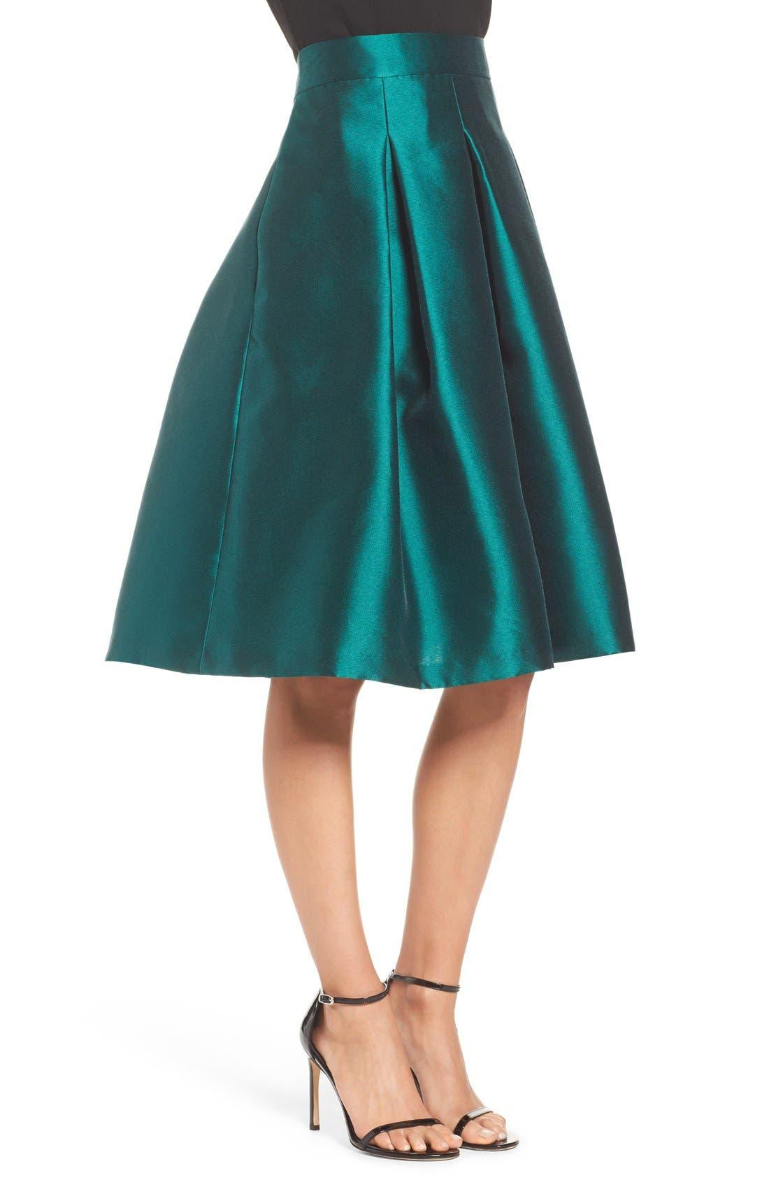Alternate Image 5  - Eliza J Release Pleat Full Skirt