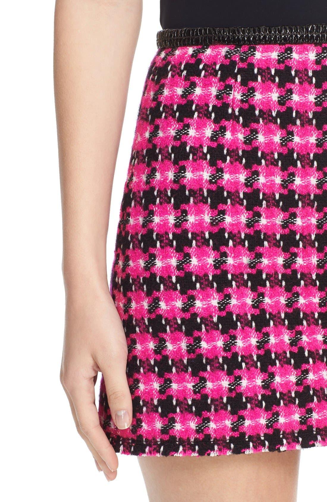 Alternate Image 5  - MARC JACOBS Geo Tweed Miniskirt