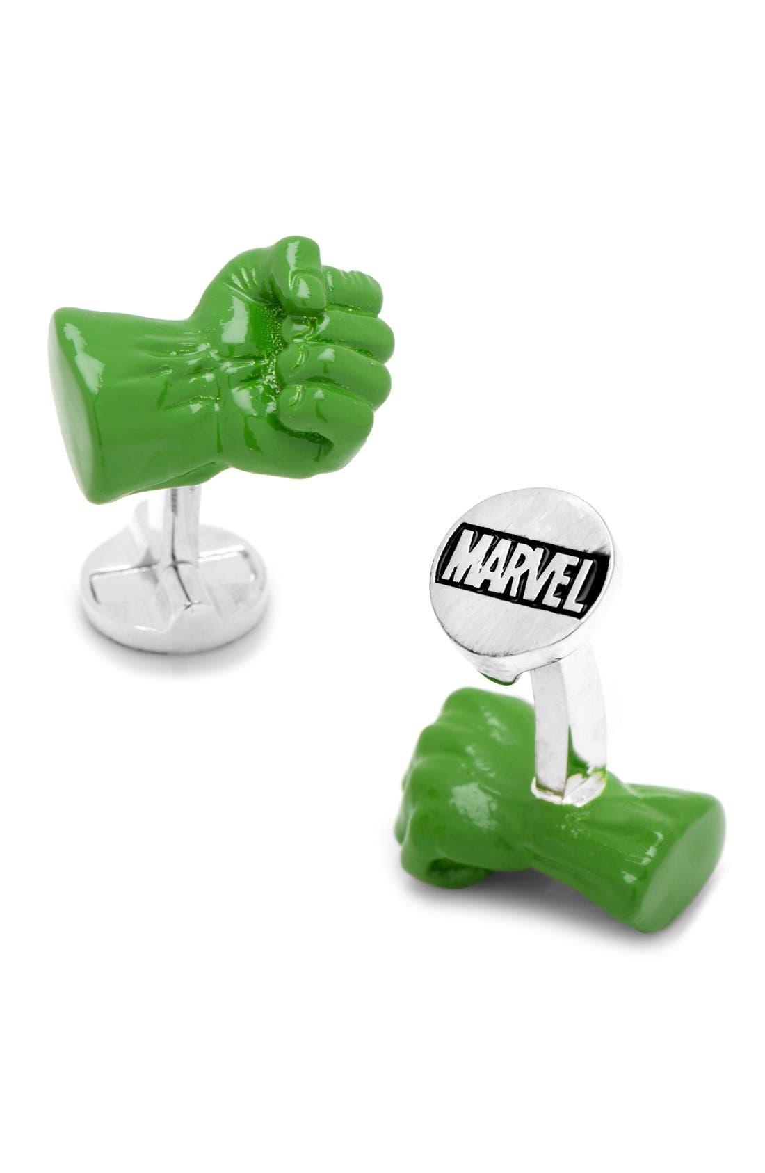 Cufflinks, Inc. Marvel Hulk Fist Cuff Links