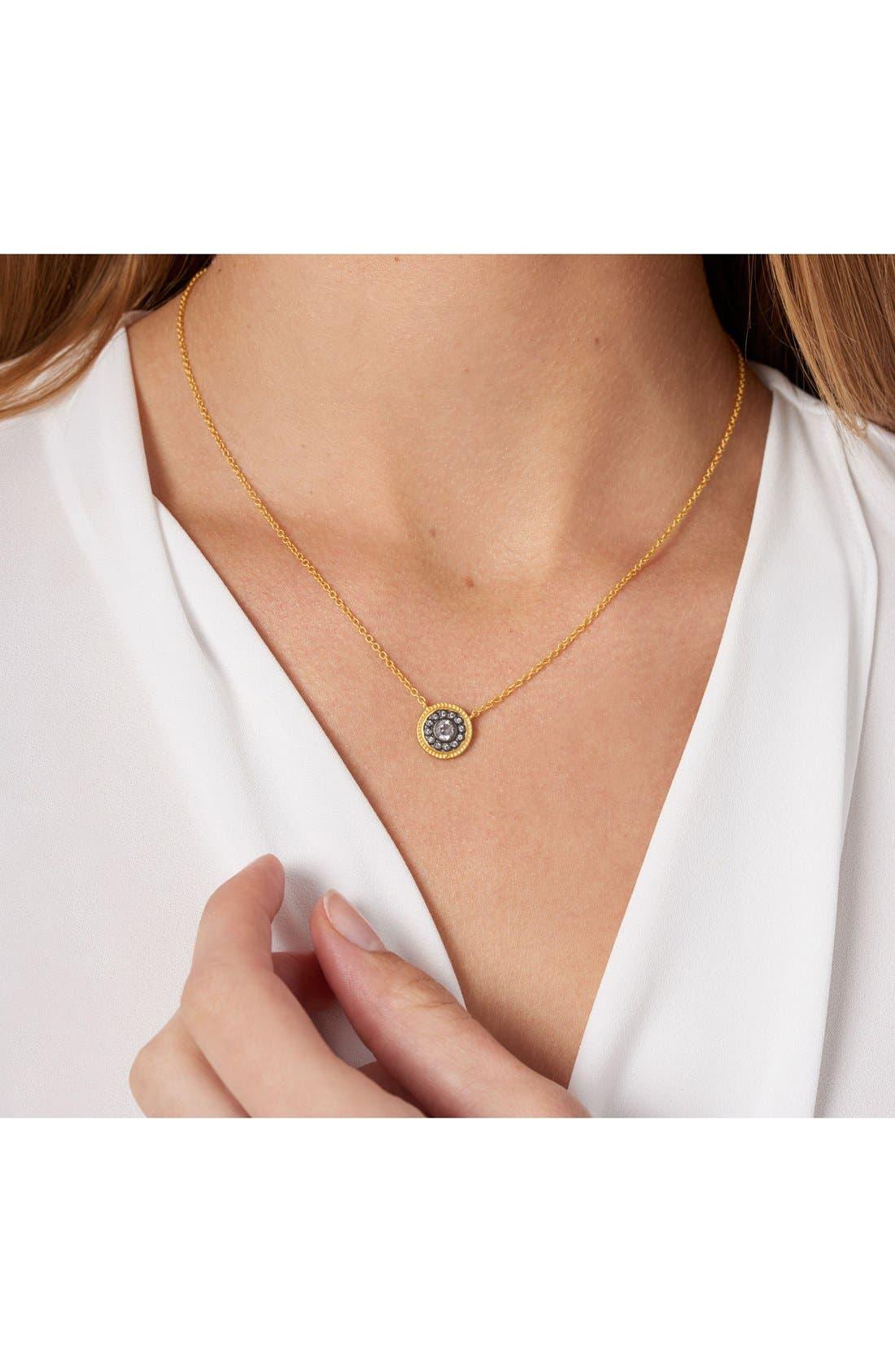 Alternate Image 4  - FREIDA ROTHMAN 'Hamptons' Nautical Button Pendant Necklace