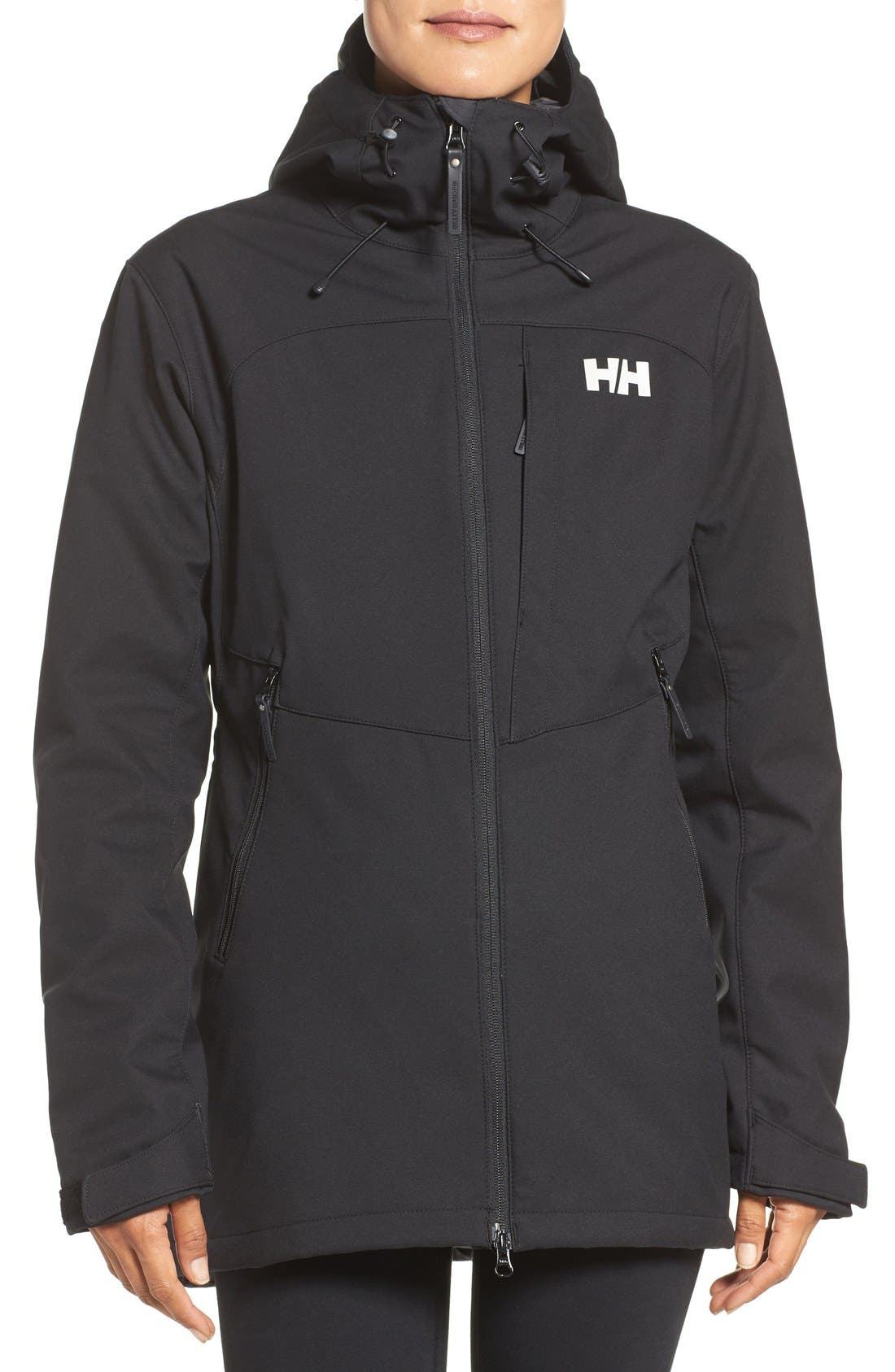 Helly Hansen 'Paramount' Water Repellent Softshell Parka
