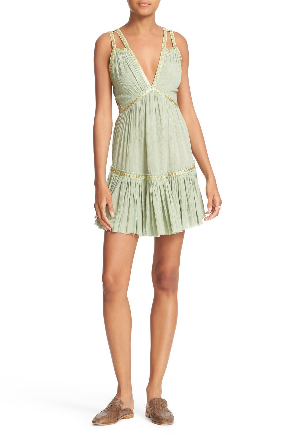 Alternate Image 1 Selected - Free People Shine Marisol Minidress