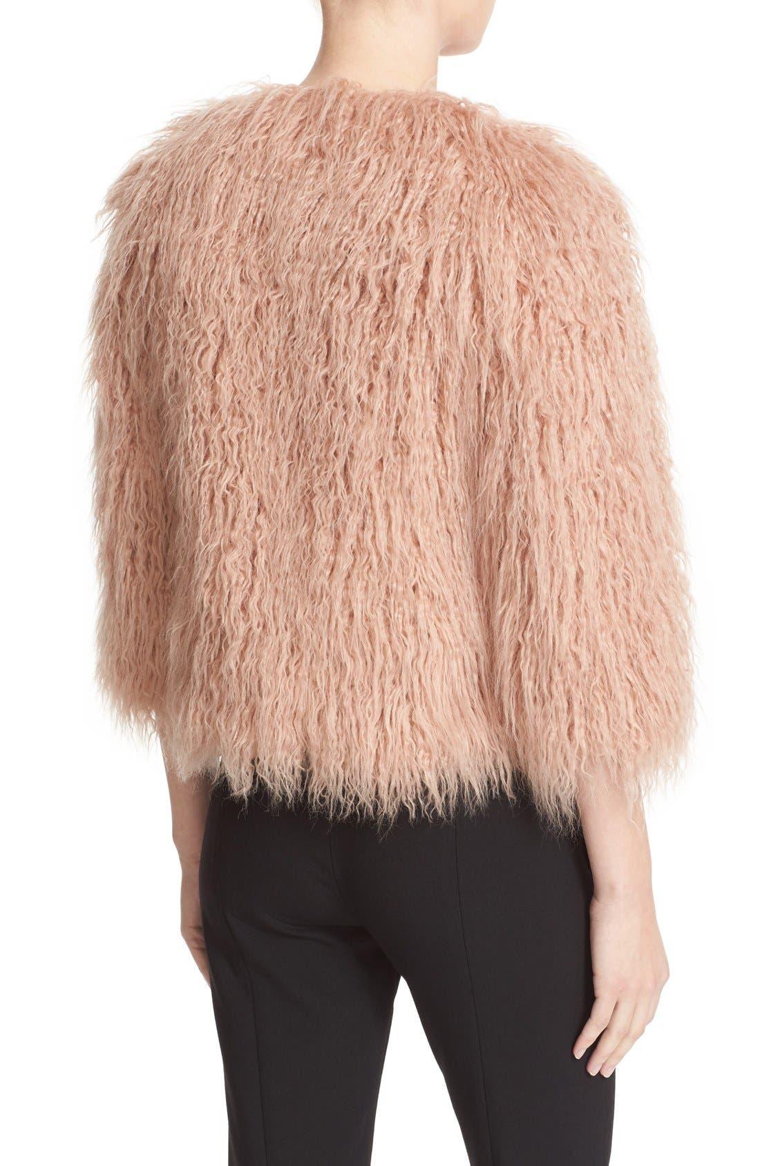 Alternate Image 3  - Theory Elstana 2 Faux Fur Crop Jacket