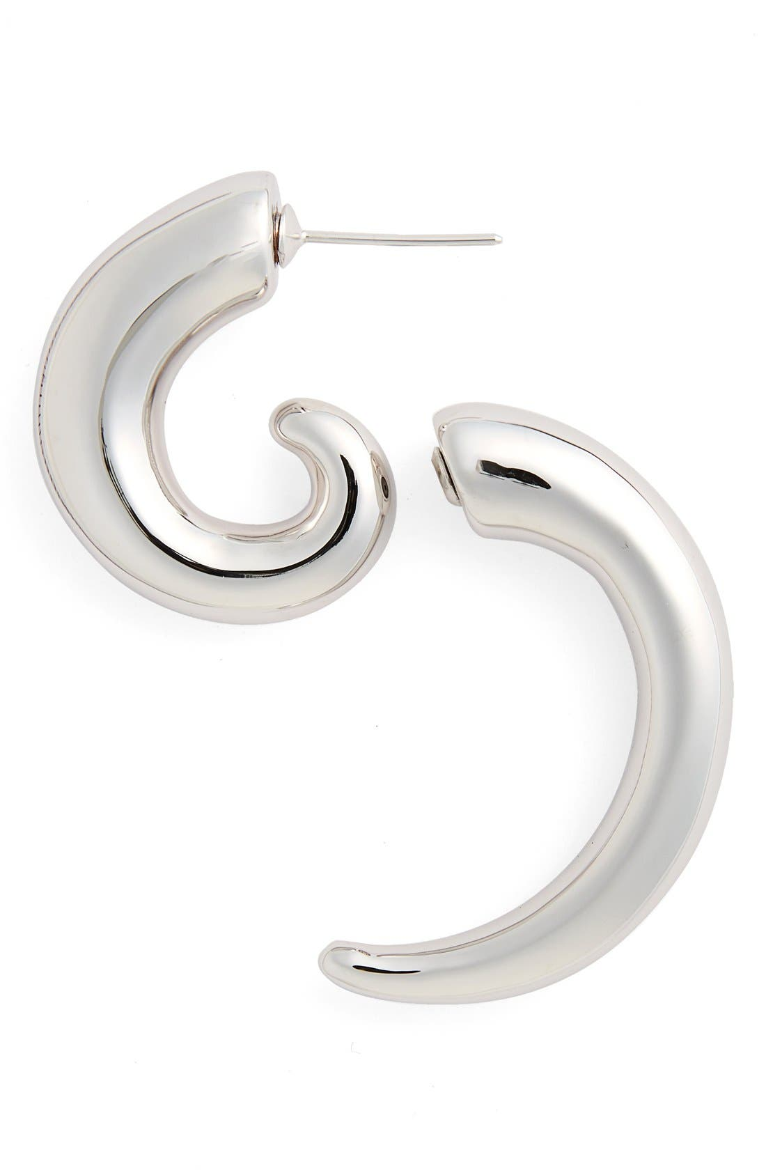 Alternate Image 1 Selected - Vetements Spiral Illusion Earring