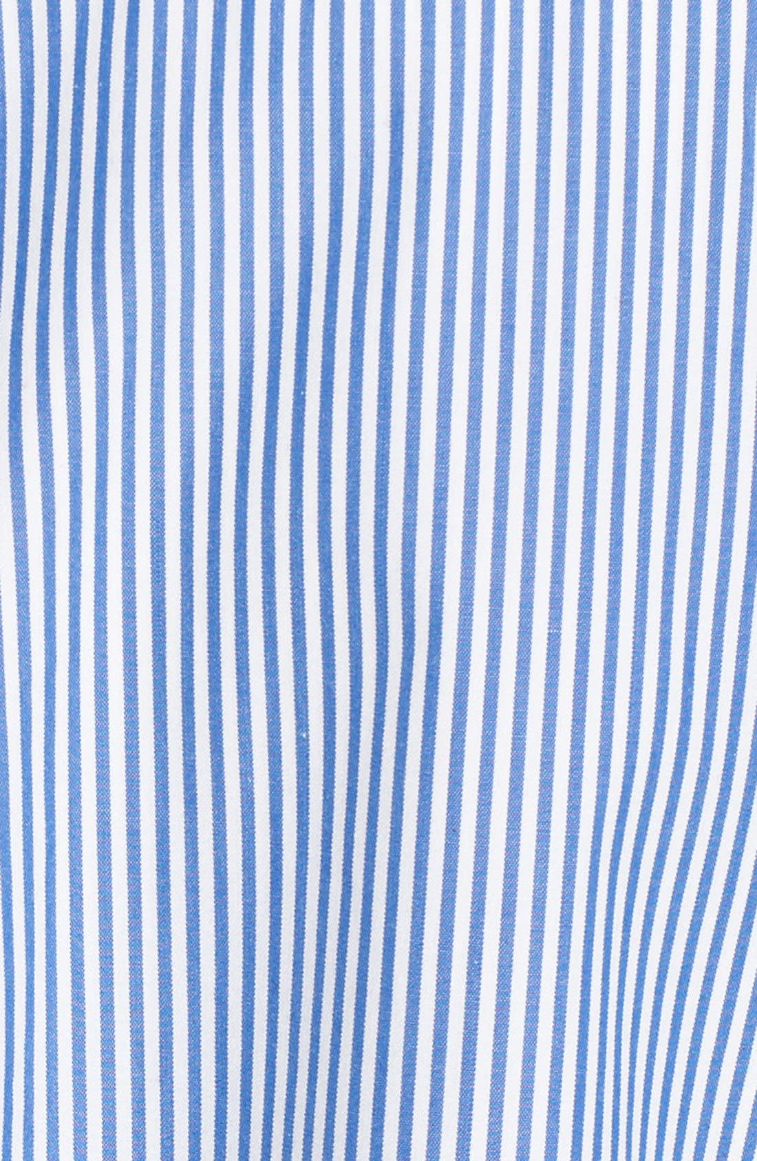 Alternate Image 5  - Theory Jodalee Cotton Poplin Shirtdress