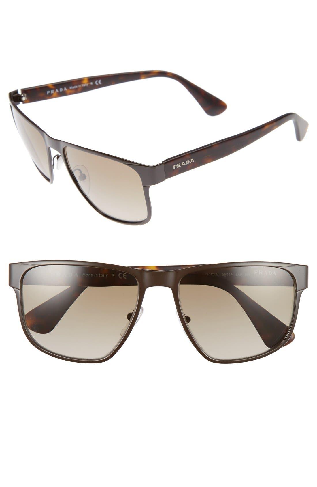 Prada 55mm Sunglasses