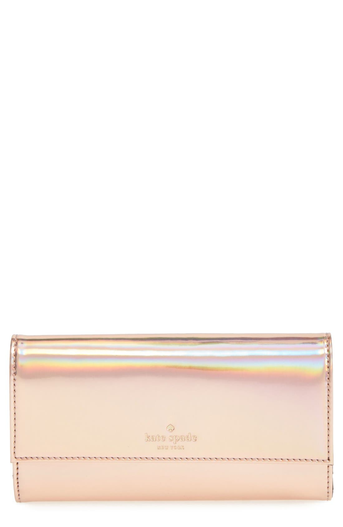 Alternate Image 1 Selected - kate spade new york iPhone 6 & 6s wallet & case