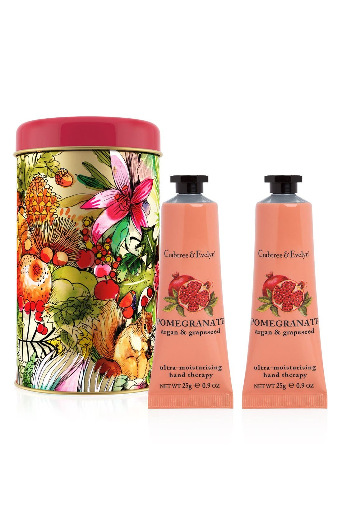 Crabtree & Evelyn Pomegranate, Argan & Grapeseed Ultra-Moisturizing Hand Therapy Duo