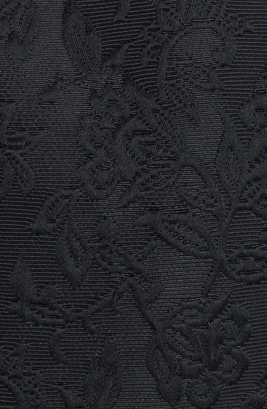 Alternate Image 3  - Dolce&Gabbana Ruffle Jacquard Bolero Jacket