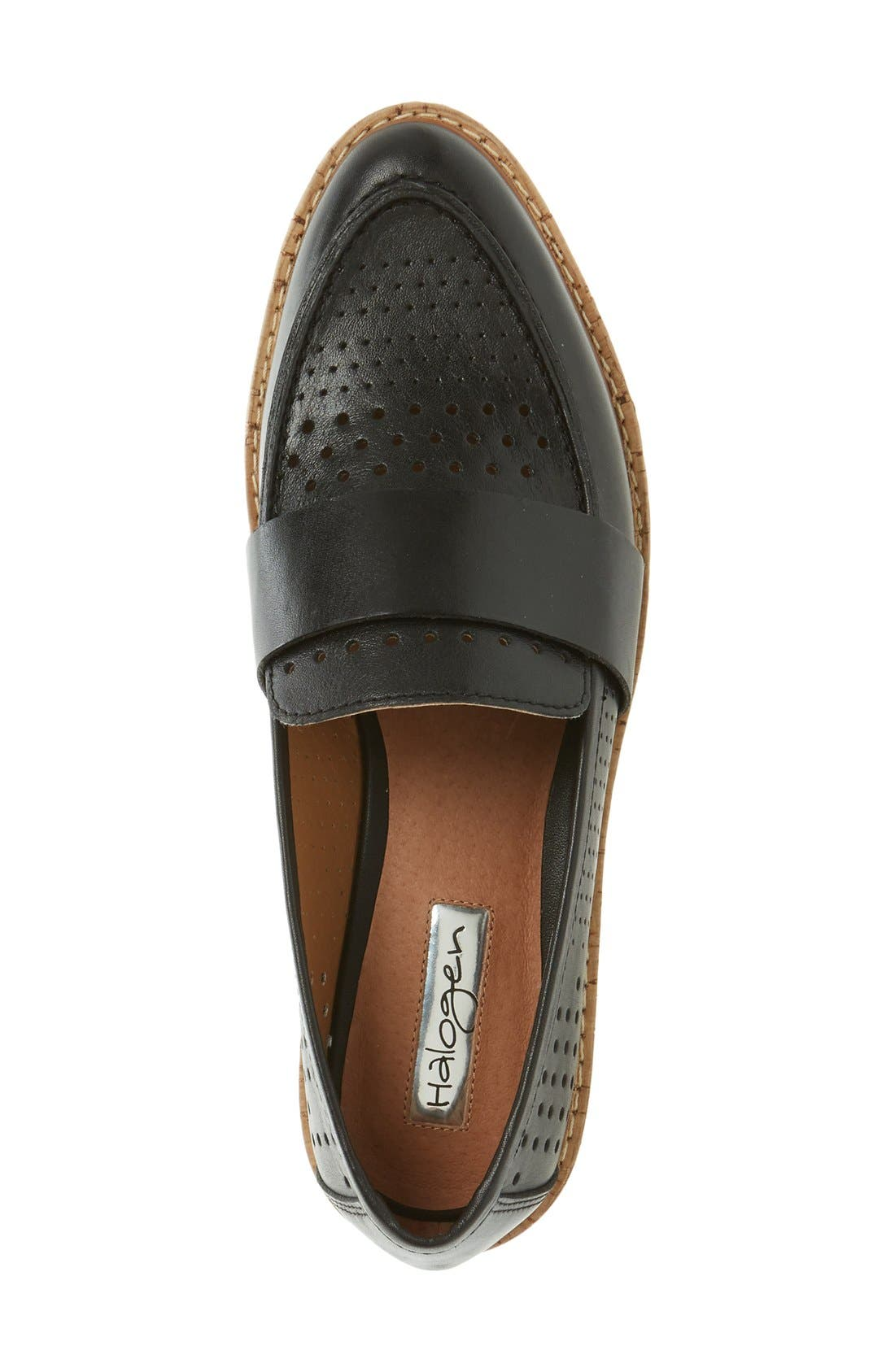 Alternate Image 3  - Halogen® 'Emily' Loafer (Women)