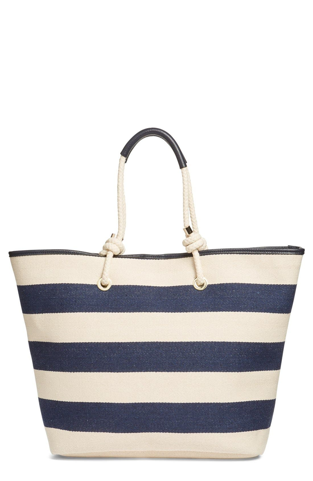 Alternate Image 1 Selected - Phase 3 Rope Handle Canvas Tote