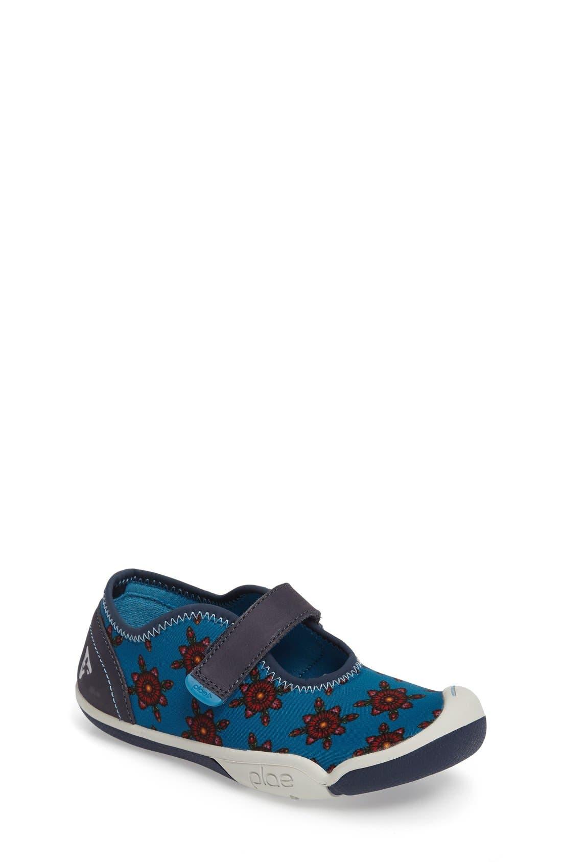 PLAE Chloe Water Repellent Mary Jane Sneaker (Toddler, Little Kid & Big Kid)