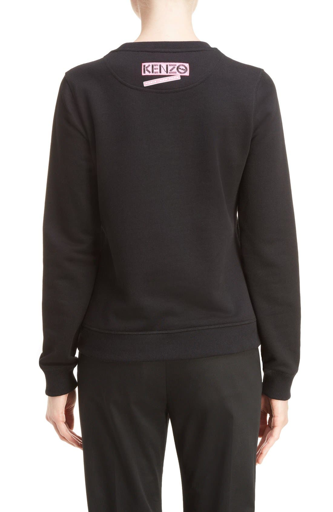 Alternate Image 2  - KENZO Embroidered Tiger Flyer Cotton Sweatshirt