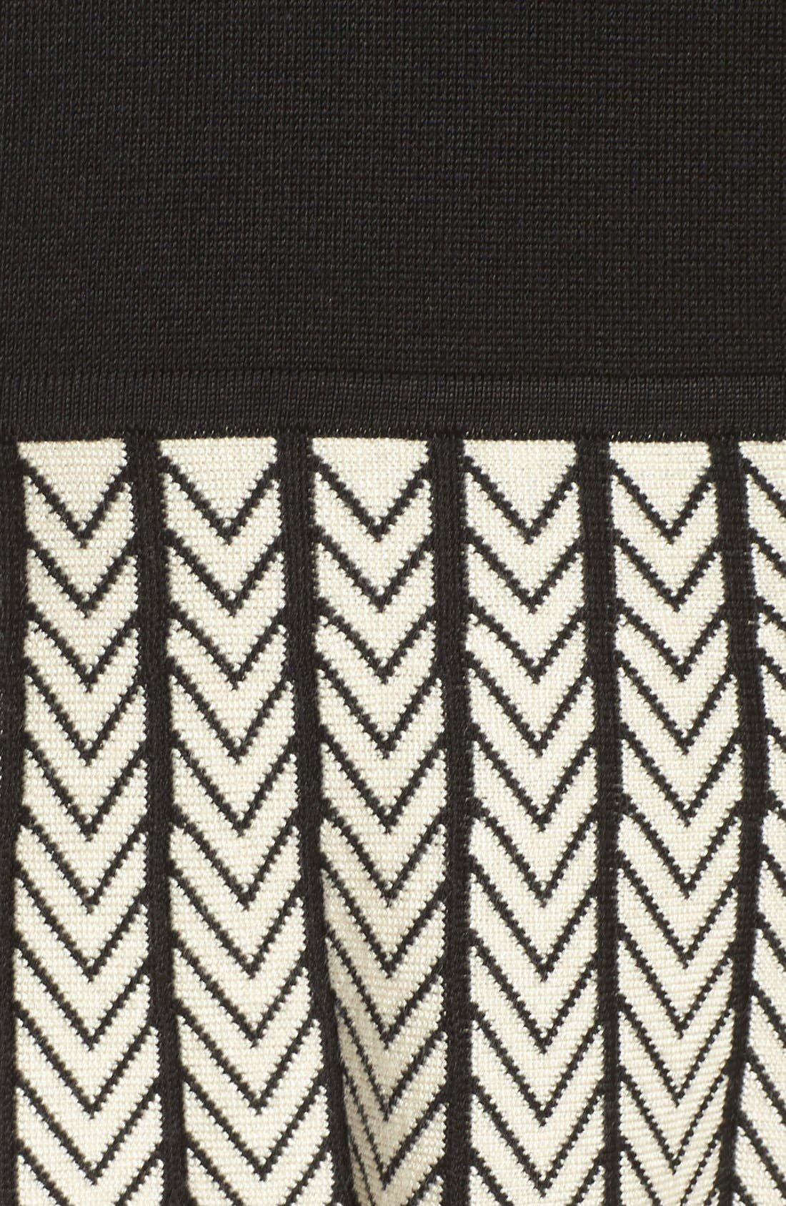 Alternate Image 6  - Gabby Skye Fit & Flare Sweater Dress