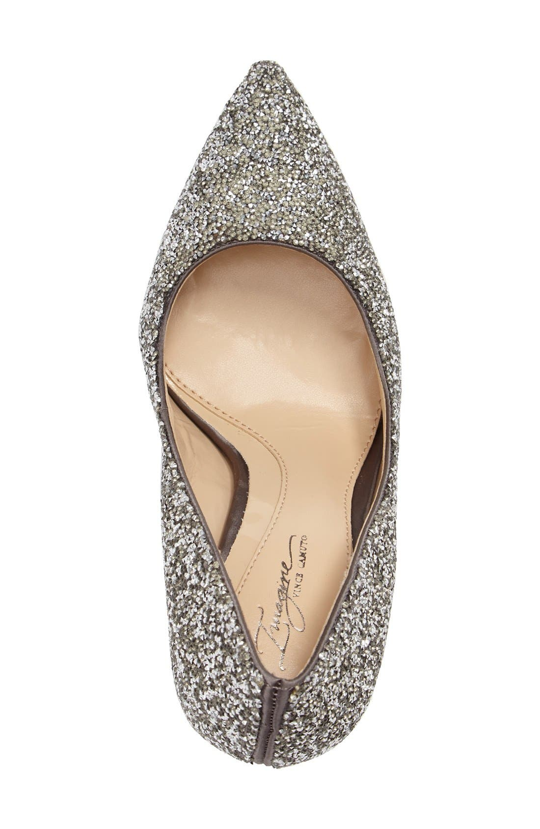 Alternate Image 3  - Imagine by Vince Camuto 'Olson' Crystal Embellished Pump (Women)