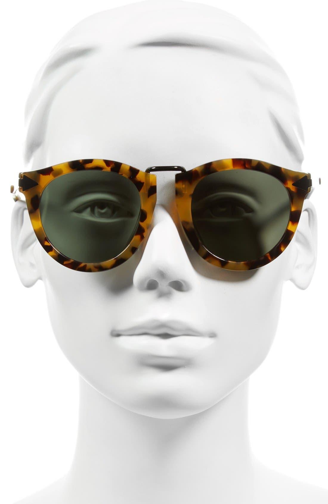 Alternate Image 2  - Karen Walker Alternative Fit Harvest 59mm Retro Sunglasses