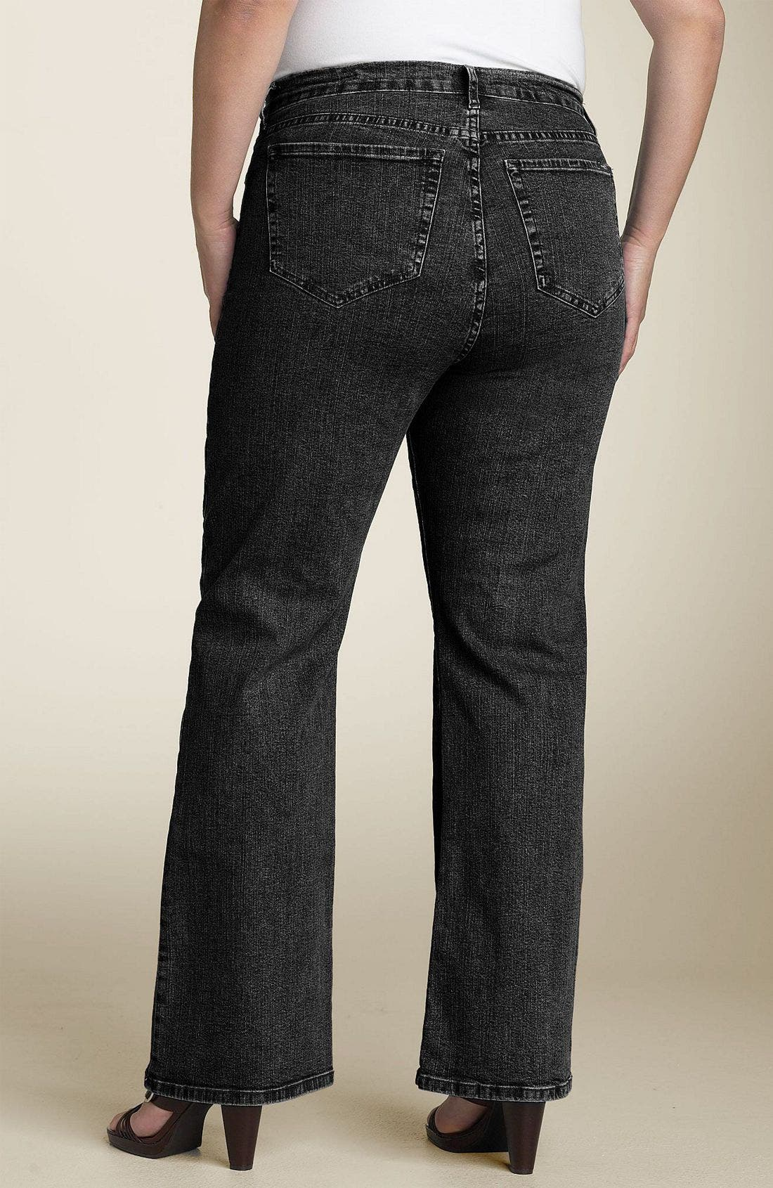 Alternate Image 1 Selected - NYDJ Stretch Jeans (Plus)