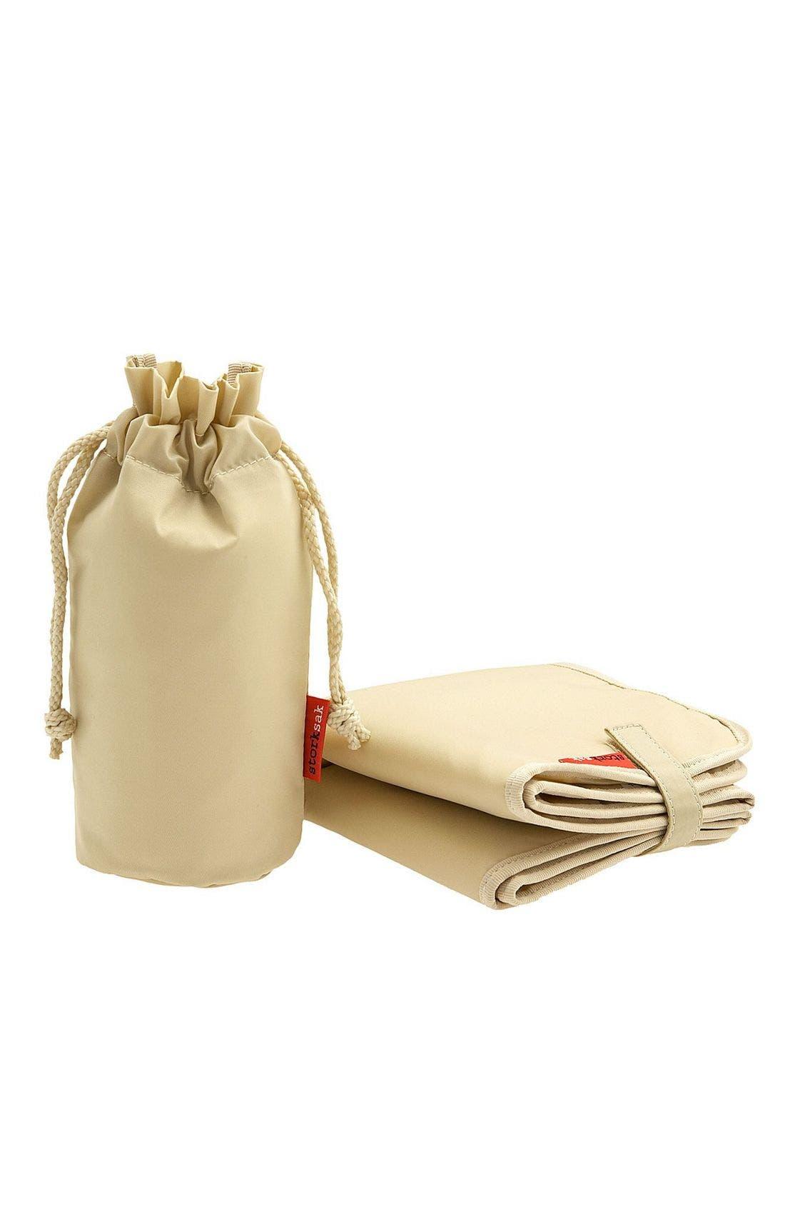 Alternate Image 4  - Storksak Elizabeth Leather Diaper Tote