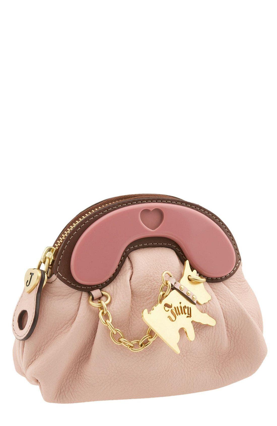 Main Image - Juicy Couture Scottie Dog Charm Wristlet