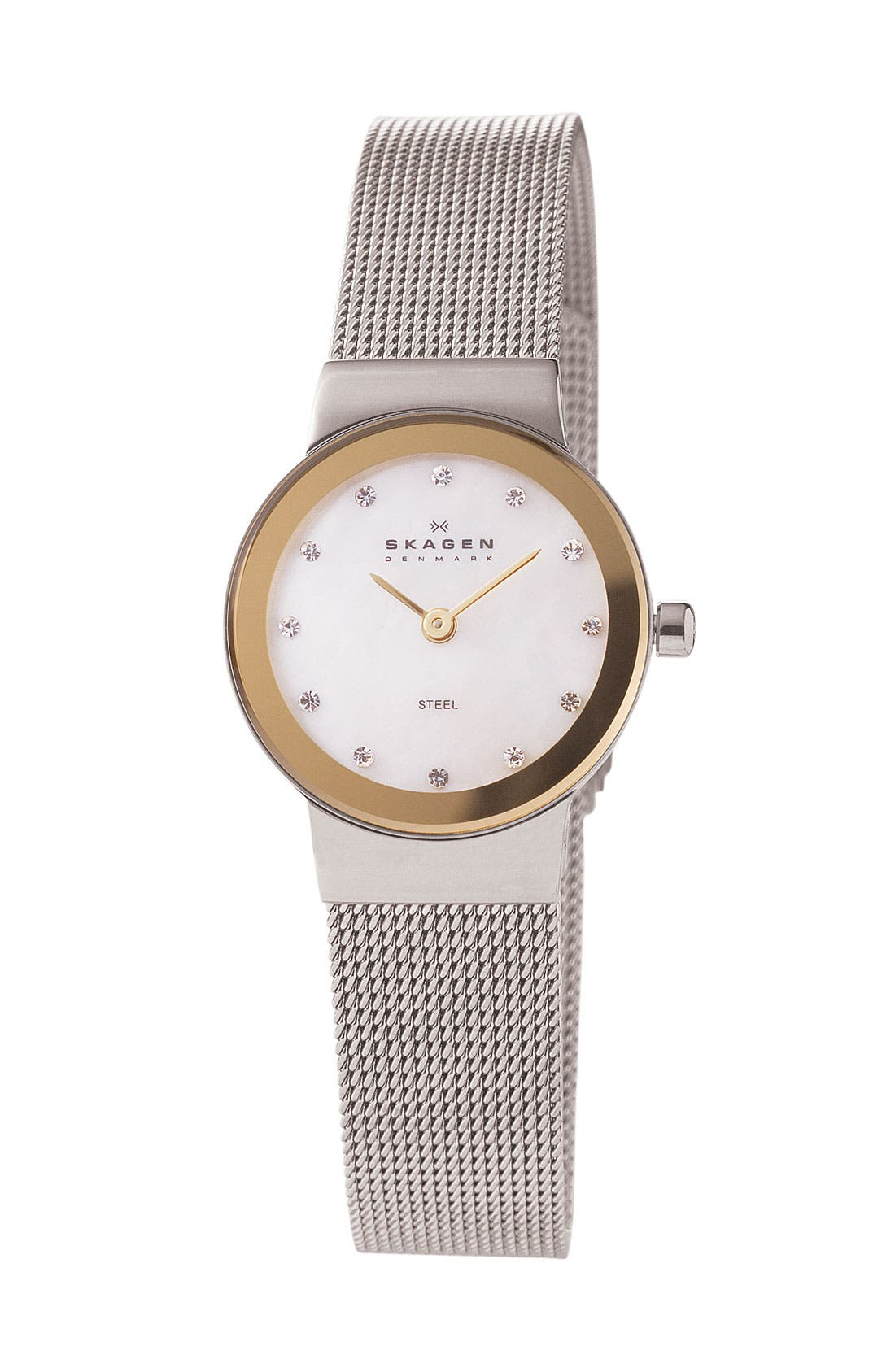 Main Image - Skagen Mother of Pearl Bracelet Watch