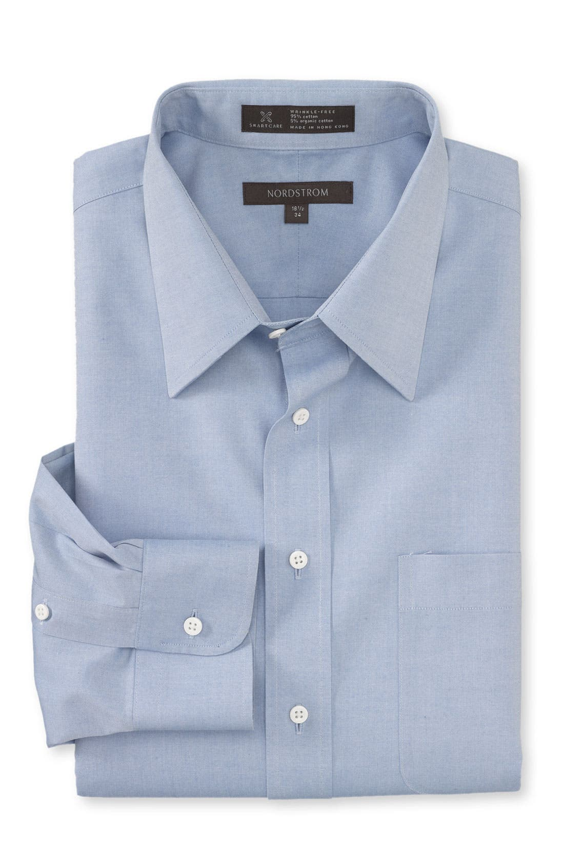 Main Image - Nordstrom Smartcare™ Classic Fit Pinpoint Dress Shirt