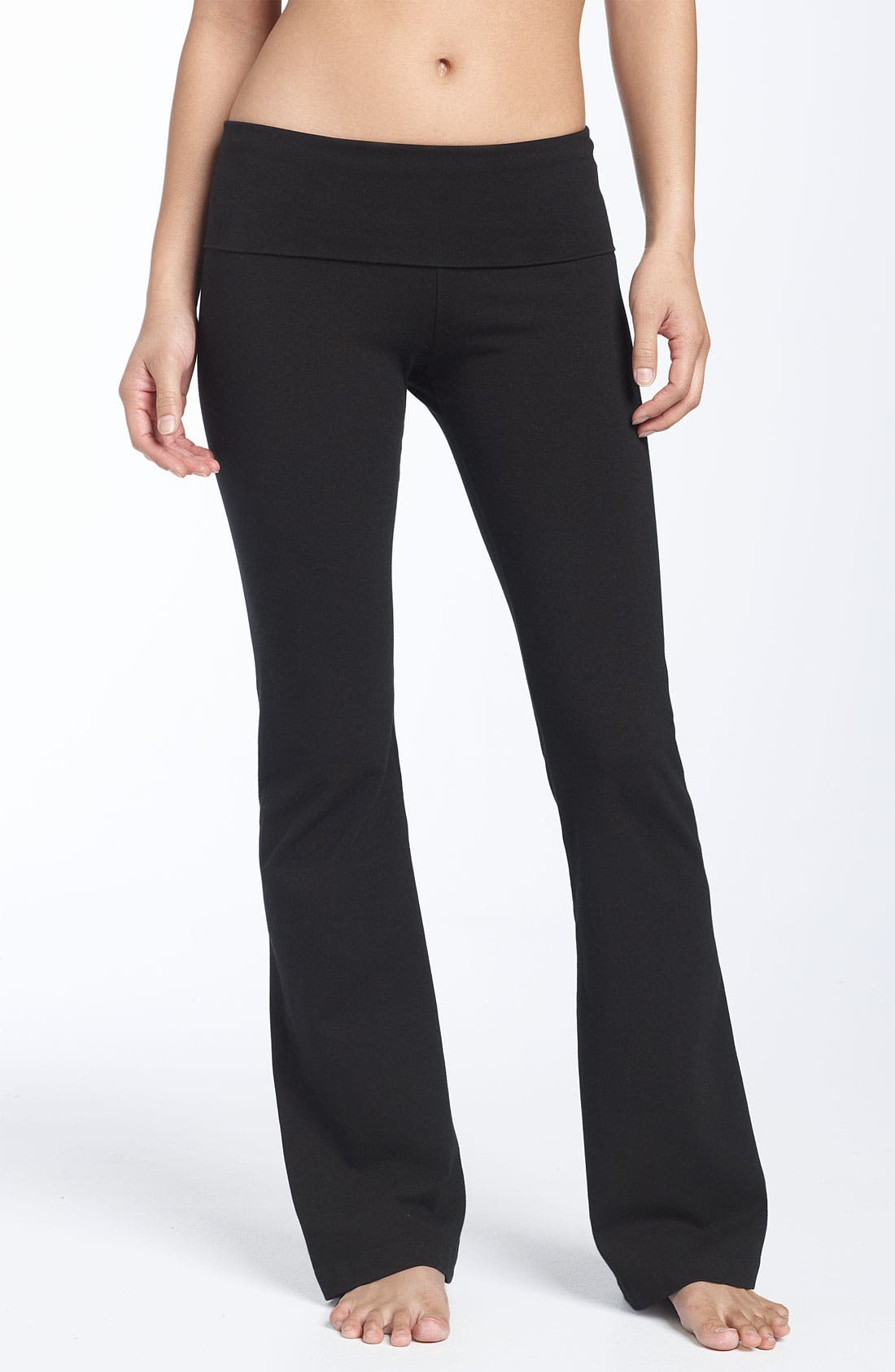 Alternate Image 2  - Hard Tail Roll Waist Pants