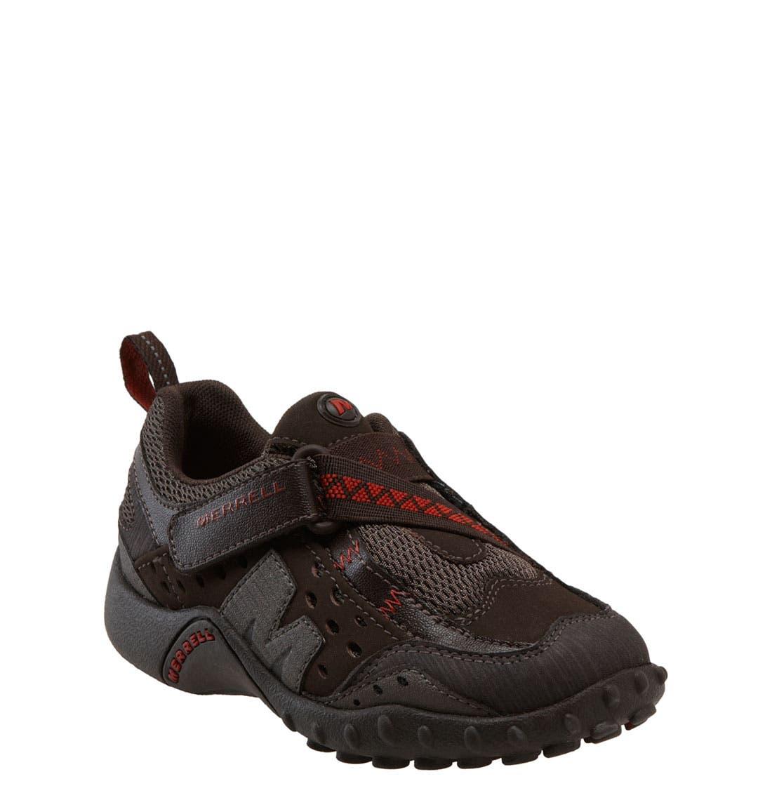 Alternate Image 1 Selected - Merrell 'Intercept' Athletic Shoe (Toddler, Little Kid & Big Kid)