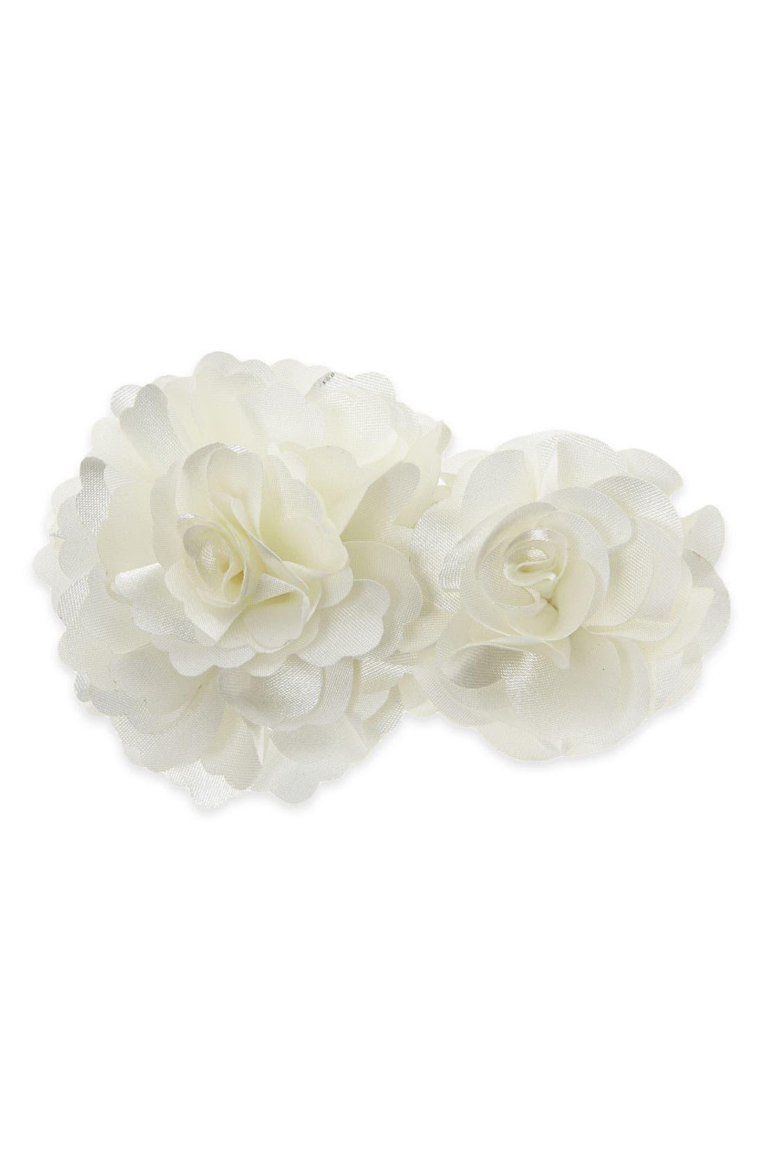 Alternate Image 1 Selected - Tasha 'Double Flower' Hair Clip