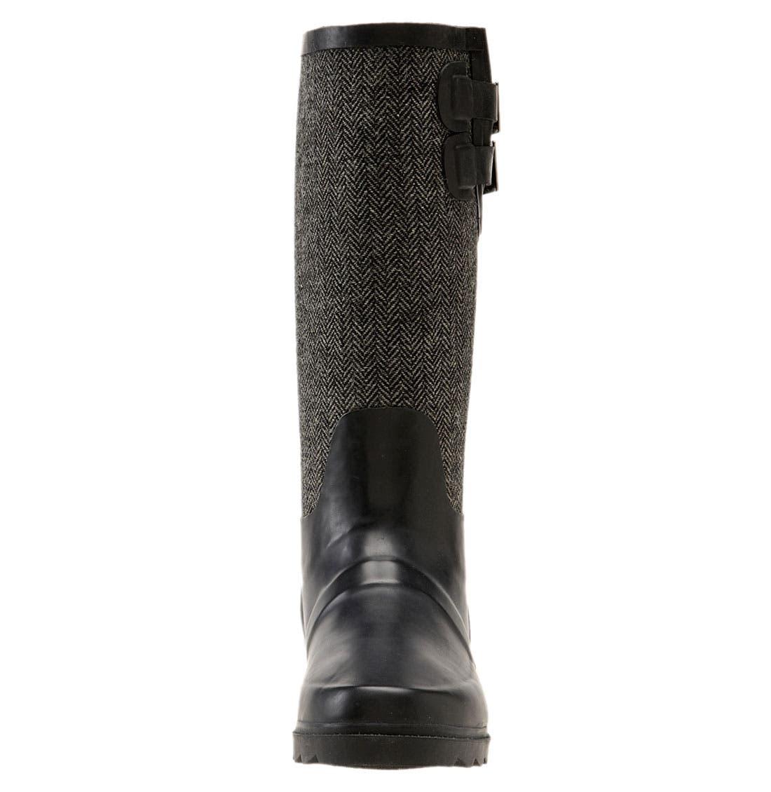 Alternate Image 3  - Chooka Signature Herringbone Rain Boot (Women)