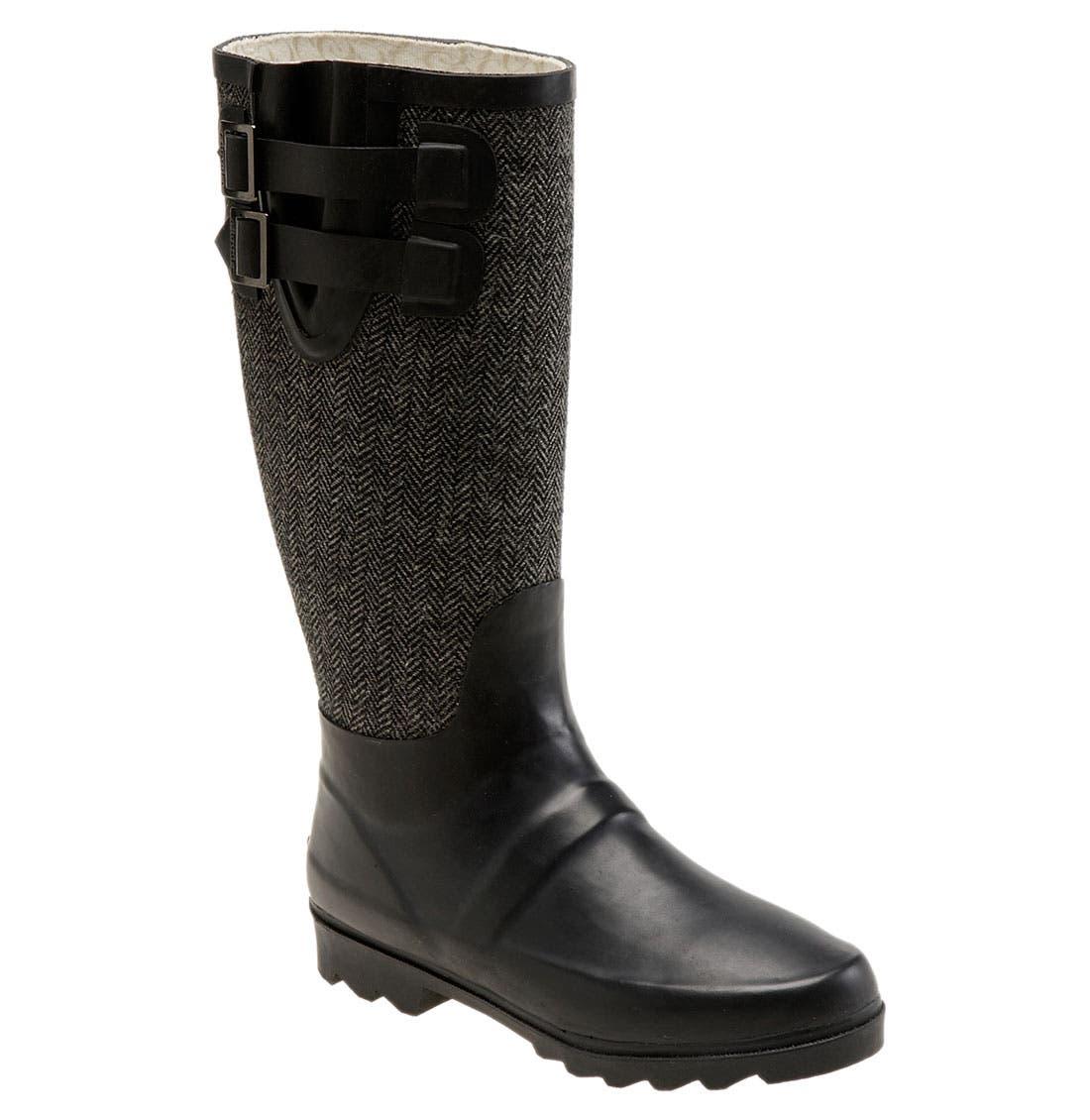 Alternate Image 1 Selected - Chooka Signature Herringbone Rain Boot (Women)