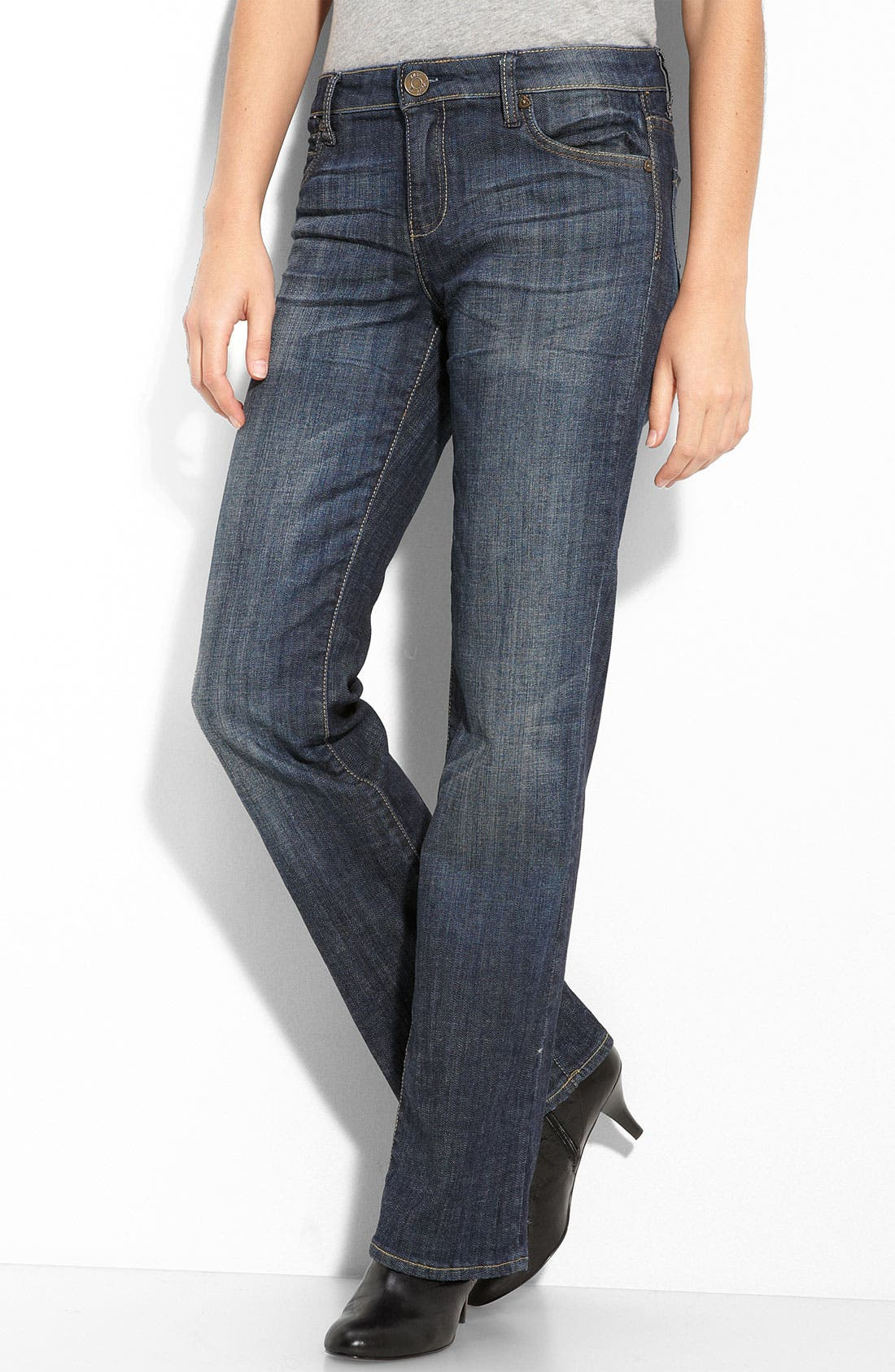 Alternate Image 2  - KUT from the Kloth Bootcut Stretch Jeans