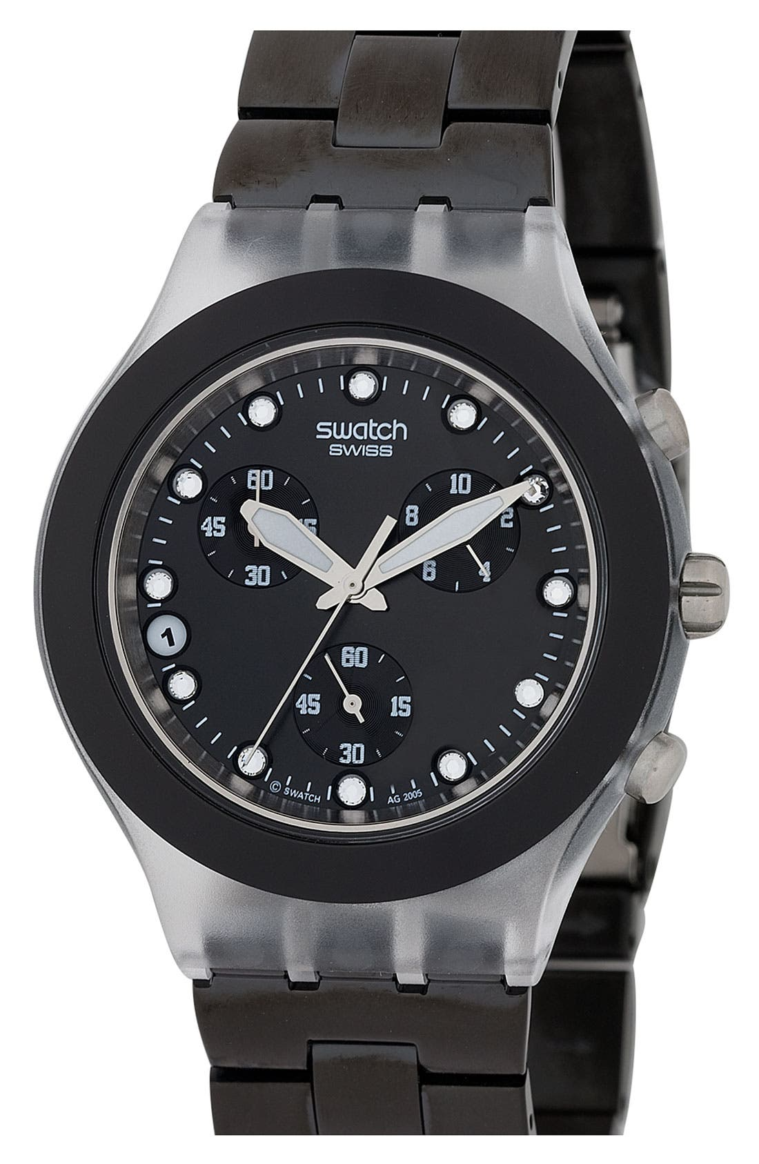 Alternate Image 1 Selected - Swatch® 'Full-Blooded' Watch